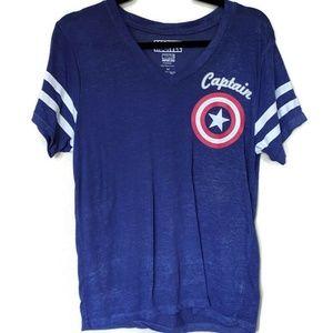 Marvel Captain America SS T-shirt sz M